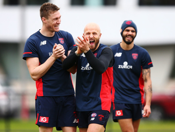 Melbourne Demons Media Opportunity & Training Session