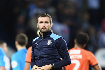 Nathan Jones West Bromwich Albion vs. Luton Town - Carabao Cup First Round