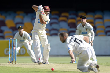 Nathan Rimmington Sheffield Shield - Bulls v Warriors: Day 3