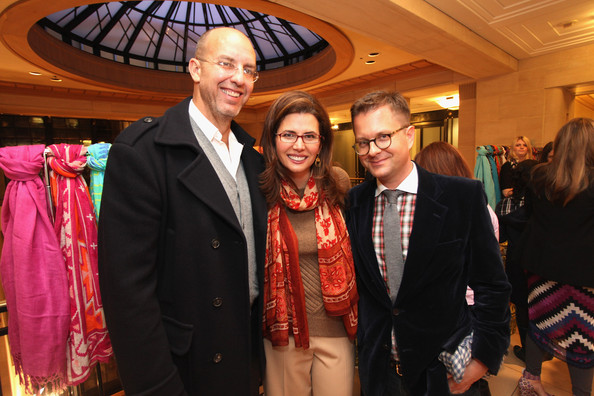 Stephanie Winston Wolkoff Stefani Greenfield And Desiree Gruber Host A Theodora Callum Holiday
