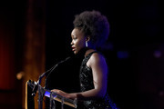 Lupita Nyong'o speaks onstage during The National Board of Review Annual Awards Gala at Cipriani 42nd Street on January 08, 2020 in New York City.