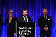 Noah Segan speaks onstage The National Board of Review Annual Awards Gala at Cipriani 42nd Street on January 08, 2020 in New York City.