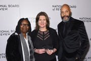 Whoopi Goldberg, Jeanmarie Condon and John Ridley attend the National Board of Review Annual Awards Gala at Cipriani 42nd Street on January 9, 2018 in New York City.