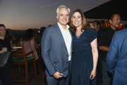 Bradley Whitford and Carolyn Bernstein attend the National Geographic's Annual Summer Party at Waldorf Astoria Beverly Hills on July 24, 2018 in Beverly Hills, California.