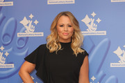 Singer Kimberley Walsh arriving at The National Lottery Awards 2017 at The London Studios on September 18, 2017 in London, England. The Awards celebrate the UK's favourite Lottery-funded projects and the show is to be broadcast on BBC One on September 27, 2017.
