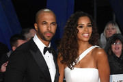 Marvin Humes and Rochelle Humes attends the National Television Awards held at the O2 Arena on January 22, 2019 in London, England.