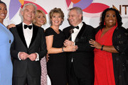 Phillip Schofield, Holly Willoughby, Ruth Langsford, Eamonn Holmes and Alison Hammond with the Daytime award during the National Television Awards held at The O2 Arena on January 22, 2019 in London, England.