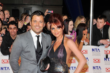Mark Wright Amy Childs National Television Awards - Outside Arrivals