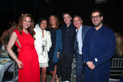 "Alyson Cafiero, Terry Zucker,  Zoe Buckman,  Brian ""KAWS"" Donnelly, Jason Zucker and Jose Parla attend National YoungArts Foundation New York Gala at The Metropolitan Museum of Art on April 18, 2018 in New York City."