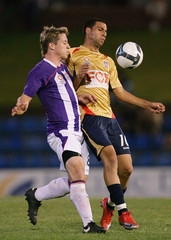 Damian Brosque National Youth League Rd 3 - Jets v Glory