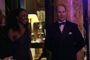 Beverley Knight (L) and Prince Edward, Earl of Wessex attend the National Youth Theatre Baroque And Roll Fundraising Gala 2020 at Spencer House on February 11, 2020 in London, England.
