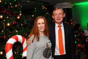 """Catherine Tate and Martin Clunes attend the UK Premiere of """"Nativity 3: Dude Where's My Donkey?"""" at Vue West End on November 2, 2014 in London, England."""