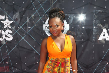 Naturi Naughton Celebs Arrive at the 2015 BET Awards