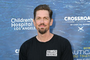 Steve Howey attends a benefit dinner for the Nautica Malibu Triathlon and Children's Hospital Los Angeles at the Nautica House on April 29, 2019 in Malibu, California.