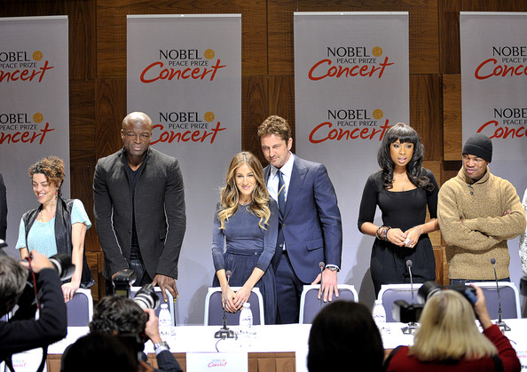 Nobel Peace Prize Concert 2012- Oslo: Press Conference