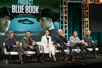 Neal McDonough Laura Mennell Project Blue Book TCA Panel 2018