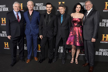 """Neal McDonough Michael Malarkey Premiere For History Channel's """"Project Blue Book"""" - Arrivals"""