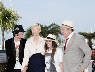 Tilda Swinton John C. Reilly We Need To Talk About Kevin Photocall - 64th Annual Cannes Film Festival