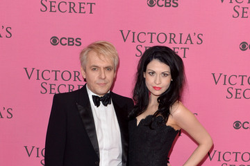 Nefer Suvio Arrivals at the Victoria's Secret Fashion Show