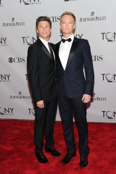 Neil Patrick Harris David Burtka (L) and host Neil Patrick Harris attend the 65th Annual Tony Awards at the Beacon Theatre on June 12, 2011 in New York City.