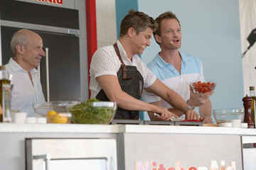 Neil Patrick Harris David Burtka Goya Foods Grand Tasting Village Featuring MasterCard Grand Tasting Tents & KitchenAid® Culinary Demonstrations - 2016 Food Network & Cooking Channel South Beach Wine & Food Festival presented by FOOD & WINE