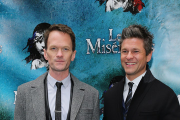 Neil Patrick Harris David Burtka 'Les Miserables' On Broadway Opening Night