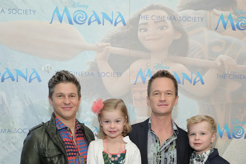 Neil Patrick Harris David Burtka Disney and The Cinema Society Host a Special Screening of 'Moana'
