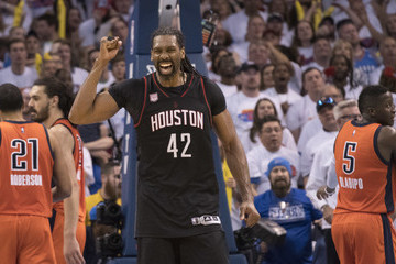 Nene Hilario Houston Rockets v Oklahoma City Thunder - Game Four