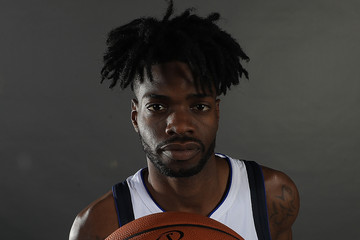 Nerlens Noel Dallas Mavericks Media Day