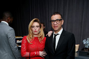 Natasha Lyonne (L) and Fred Armisen attend the 2018 Netflix Emmy After-Party at NeueHouse Hollywood on September 17, 2018 in Los Angeles, California.