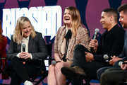 "Amy Poehler, Leslye Headland and Charlie Barnett attend Netflix's FYSEE event for ""Russian Doll"" at Netflix FYSEE At Raleigh Studios on June 09, 2019 in Los Angeles, California."