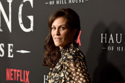 """Annabeth Gish attends the premiere of Neflix's """"The Haunting Of Hill House"""" at ArcLight Hollywood on October 8, 2018 in Hollywood, California."""