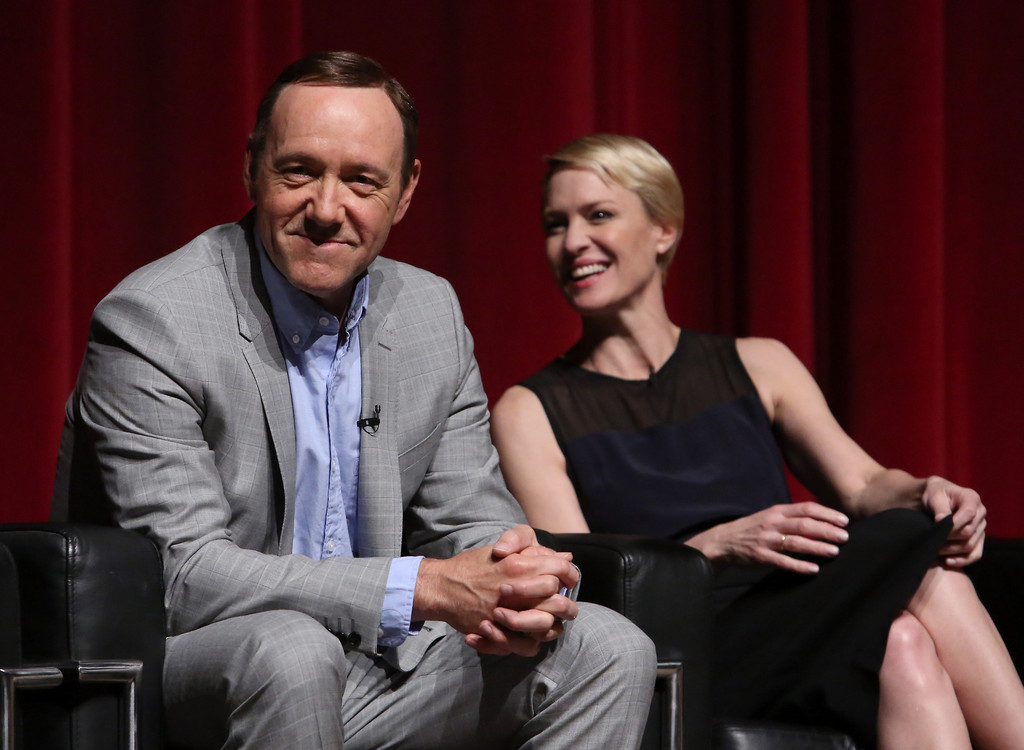 Kevin Spacey Robin Wright Kevin Spacey And Robin Wright