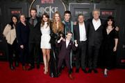 "Cast and crew of Netflix's ""Locke & Key"" attend Netflix's ""Locke & Key"" series premiere photo call at the Egyptian Theatre on February 05, 2020 in Hollywood, California."