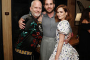 (L-R) Ryan Murphy, Ben Platt and Zoey Deutch attend Netflix's 'The Politician' - LA Tastemaker at San Vicente Bungalows on July 23, 2019 in West Hollywood, California.