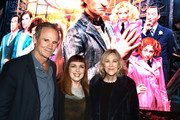 """Bo Welch, Cynthia Summers and Catherine O'Hara attend Netflix's """"A Series of Unfortunate Events"""" Red Carpet and Reception at Netflix Home Theater on March 10, 2019 in Los Angeles, California."""