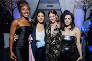 """(L-R) DeWanda Wise, Gina Rodriguez, Brittany Snow and Writer and Director Jennifer Kaytin Robinson attends Netflix Special Screening Of """"Someone Great"""" at ArcLight Cinemas on April 17, 2019 in Culver City, California."""