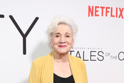 """Olympia Dukakis attends Netflix's """"Tales of the City"""" New York Premiere at The Metrograph on June 03, 2019 in New York City."""
