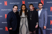 """Berry Welsh, Ava DuVernay, Jane Rosenthal and Jonathan King attend Netflix'x FYSEE event for """"When They See Us"""" at Netflix FYSEE At Raleigh Studios on June 09, 2019 in Los Angeles, California."""