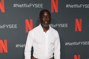 """Michael K. Williams attends Netflix'x FYSEE event for """"When They See Us"""" at Netflix FYSEE at Raleigh Studios on June 09, 2019 in Los Angeles, California."""