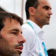 Ruud van Nistelrooy and Roberto Martinez Photos