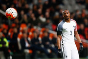 Patrice Evra of France looks on during the International Friendly match between Netherlands and France at Amsterdam Arena on March 25, 2016 in Amsterdam, Netherlands.