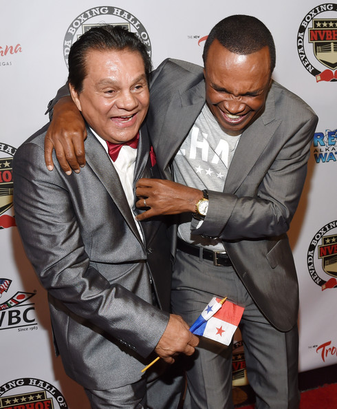 Roberto Duran In Nevada Boxing Hall Of Fame Induction