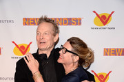 Bill Irwin an d Sarah Long Solomon attend The New 42nd Street 25th Anniversary Gala at New 42 Street Studios on April 11, 2016 in New York City.