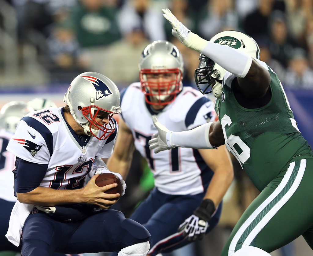 Tom Brady and Muhammad Wilkerson s s Zimbio