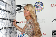 Wrestler Kelly Kelly with New Era during the 2011 Maxim Hot 100 Party held at Eden on May 11, 2011 in Hollywood, California.