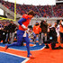 Kellen Moore Photos - Kellen Moore #11 of the Boise State Broncos runs onto the field before the game against the New Mexico Lobos at Bronco Stadium on December 3, 2011 in Boise, Idaho. - New Mexico v Boise State
