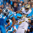 Jonathan Stewart Photos - Jonathan Stewart #28 of the Carolina Panthers scores a touchdown against the New Orleans Saints in the 2nd quarter during the game at Bank of America Stadium on November 17, 2016 in Charlotte, North Carolina. - New Orleans Saints v Carolina Panthers