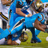Jonathan Stewart Photos - Jonathan Stewart #28 of the Carolina Panthers runs the ball against the New Orleans Saints in the 1st quarter during the game at Bank of America Stadium on November 17, 2016 in Charlotte, North Carolina. - New Orleans Saints v Carolina Panthers