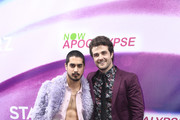 (L-R) Avan Jogia, Beau Mirchoff, attend the 'Now Apocalypse' Los Angeles Premiere at Hollywood Palladium on February 27, 2019 in Los Angeles, California.